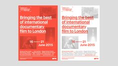 """Check out this @Behance project: """"Open City Documentary Festival London 2015"""" https://www.behance.net/gallery/30767755/Open-City-Documentary-Festival-London-2015"""
