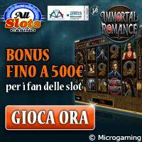La #slot #online Immortal Romance è disponibile a All Slots, #casino #online concessionario AAMS. http://www.allslotscasino.it/slot-machine-online.html/immortal-romance.html