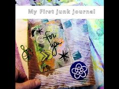 My First Junk Journal by Shelley Turner, cute use of some unlikely documents.