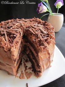 Biochimist La Cratita: Tort de ciocolata (de post) - Vegan Chocolate Cake Vegan Chocolate, Chocolate Cake, Milk Cake, Vegan Cake, Pulled Pork, Coconut Milk, Gem, Ethnic Recipes, Desserts