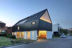 One Roof house.  South Korea  MLNP architects
