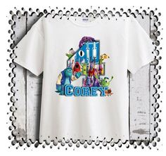 Nightmare Before Christmas Personalized Birthday T-Shirt Party Favor