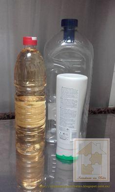 Haz tu propio suavizante para la ropa | Decoración Water Bottle, Restaurant, Cleaning, Drinks, Natural, Ideas, Shape, Home, Cleanser
