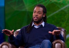 "Harvard's ""Social Capital"" Panel POSTED BY: Richard Sherman in News  Richard Sherman, Other NFL Players Discuss 'Social Capital' At Harvard"