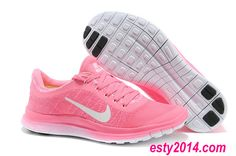 2014 Nike Free Run 3.0 V6 Flyknit Think Pink Lime White Running Shoes Summer 2014