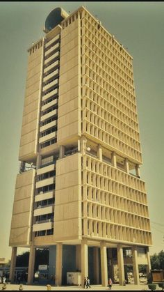 The University of Baghdad designed by Walter Gropius / Iraq