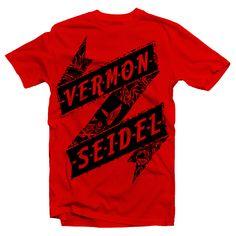 Vermon Seidel #vermonseidel #kikuyuwood #wingerswordwide #men  #tshirt #fashion #vermon