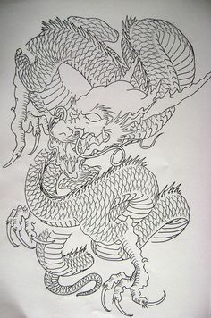 Dragon 9 from my book...