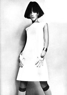 Marisa Berenson. Photo by Guy Bourdin, 1966.