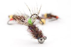 *perfect for Spring fishing *must have nymph for fishing in deep pools *trout live this fly all season *deadly in fast flowing waters Not good for slow running rivers! Nymph Fly Patterns, Fly Tying Patterns, Trout Fishing Tips, Fishing Bait, Fishing Tricks, Walleye Fishing, Fishing Knots, Carp Fishing, Ice Fishing