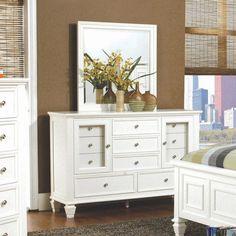 Coaster Furniture Sandy Beach 5 Drawer Dresser