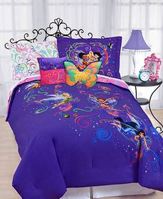 Disney Bedding, Surreal Garden Disney Tinkerbell Twin Comforter Set - Kids Bedding - Bed & Bath - Macy's