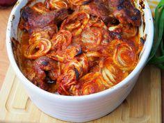 Szefowa w swojej kuchni. ;-): Karkówka pieczona w keczupie z cebulą