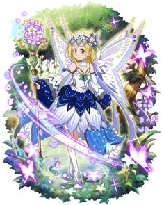 Elaine looks like a magical girl ^^