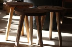 Tripod Table by Justin Hermes Design