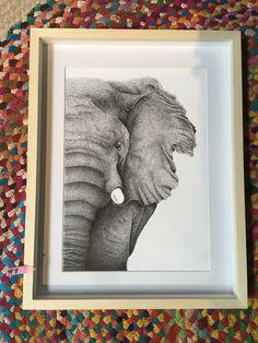 Elefante 4 - Veronica Reynal - @verentinta - dibujo en tinta #elefante #dibujo #dibujoentinta #tintanegra Frame, Home Decor, Ink, Drawings, Picture Frame, Decoration Home, Room Decor, Frames, Home Interior Design
