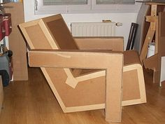 CARDBOARD CHAIR DESIGN
