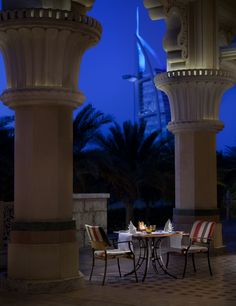 Madinat Jumeirah - Dubai Restaurants -  Arboretum - Terrace, Honeymoon destinations