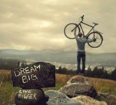 vive mejor de lo que sueñas... #Bikespiration