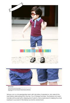 Best Selling Kids Clothes Free Shipping Little Boy Summer Shorts Leisure Pants K0493