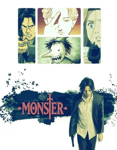 Monster anime/manga poster by Correlola