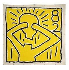Keith Haring - Untitled, 1982 (foto Sotheby's)