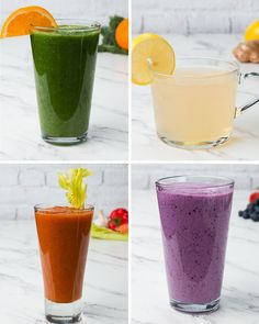 Immunity Juices 4 Ways by Tasty