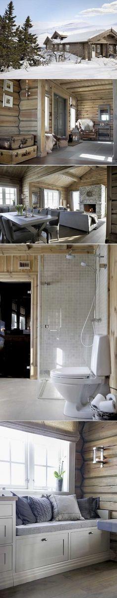 Душевное шале в Норвегии - Дизайн интерьеров   Идеи вашего дома   Lodgers