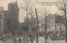 Place des Abbesses Montmatre Paris 18e
