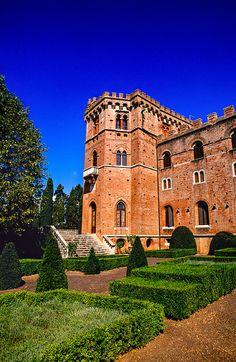 Castello di Brolio, Chianti, Toscana, Italia