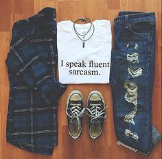 I speak Fluent Sarcasm White T shirt