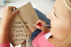 Negativity can invade our families and drag us down. Teaching children to recognize goodness in all its great and small forms is important for their outlook. Start helping them recognize the good with a Family Gratitude Journal.