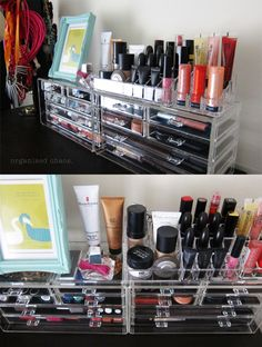 I love this! It's like having your personal make up counter at home <3