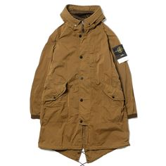 Women S Clothing Coats Jackets & Vests Trench Rain Stone Island Hoodie, Stone Island Parka, Military Fashion, Mens Fashion, Fishtail Parka, Cool Jackets, Men's Jackets, Waterproof Coat, Field Jacket