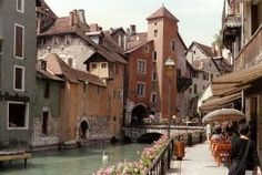 annecy. rhone alpes. france. by cristina