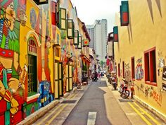 Haji Lane - My favorite street in singapore Haji Lane Singapore, Singapore Malaysia, Singapore Travel, Singapore Sling, Singapore Photos, Kuala Lumpur, Oh The Places You'll Go, Places To Visit, Philippines