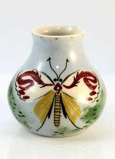 Martin Boyd Butterfly Vase