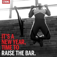 Raise the bar. #motivation #fitness #strongwomen