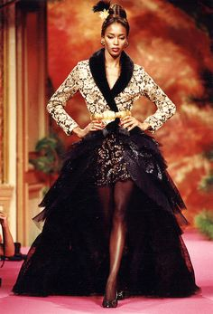 That! was Haute couture...Dolce what? Christian Lacroix Haute Couture Fall-Winter 1991
