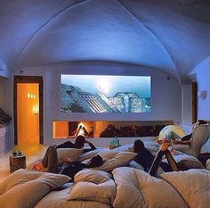 I will have a movie room like this hands down!