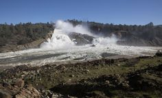 Tens of thousands of residents in Northern California were ordered to immediately evacuate Sunday afternoon after erosion at the emergency spillway on the Oroville Dam threatened to flood Oroville and nearby towns below.