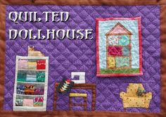 Sewing room from the Quilted Dollhouse