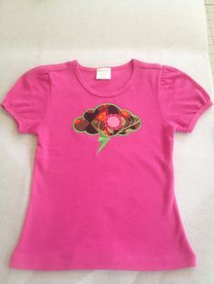Girls Tickle Me Pink Thunder Cloud (4T)