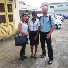 """Meeting mit unserer lokalen Agentur """"Masons Travel"""" #taipan_seychellen #seychellen #mahe"""