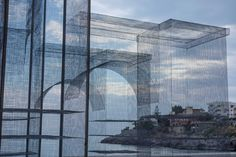 'Incipit' Wire Mesh Sculpture by Edoardo Tresoldi | Yellowtrace
