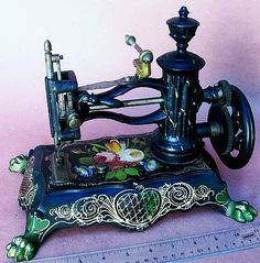Antique Pawfoot Sewing Machine.