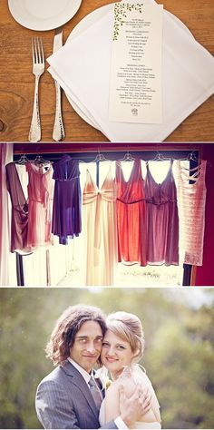 love these bridesmaid dresses. Number one color choices as of rights now...which could stand for all of...four minutes.