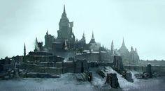 ArtStation - Bartok Castle for The last Knights, emmanuel shiu