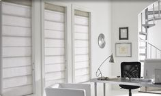 Modern and Eclectic Window Treatments
