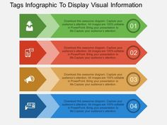 Tags Infographic To Display Visual Information Powerpoint Template - PowerPoint…